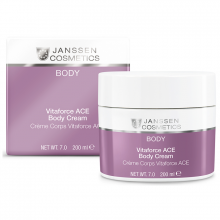 Kem dưỡng trắng sáng cho body - Janssen Cosmetics Vitaforce C Ace Body Cream 200ml