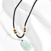 Mặt dây chuyển Phật Bản Mệnh Bất Động Minh Vương đá cẩm thạch phỉ thúy tuổi dậu - Ngọc Quý Gemstones