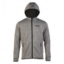Áo khoác jacket nam có nón Jartazi (Hooded Zipper Jacket) JA4515M (Xám)