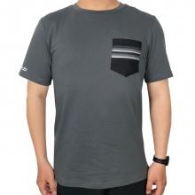 Áo thun nam không cổ có túi Jartazi (Pocket contrast T-shirt) JM19-0012B