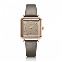 Đồng hồ nữ dây da chính hãng Julius Hàn Quốc JA-1123B (Xám)