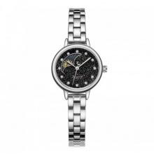 Đồng hồ nữ ja-1157a julius sun and môn dây thép - bạc