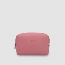Túi mỹ phẩm nữ chữ nhật phom mềm Idigo FB2-008-00