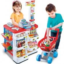 Bộ thu ngân xe đẩy siêu thị ( sản phẩm y hình)- nhựa an toàn cho bé