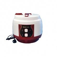 Nồi cơm điện cơ lòng nồi niêu Supor CFXB50YB13VN - màu trắng đỏ