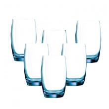 Bộ 6 ly cao thủy tinh 350ml Luminarc Salto Ice Blue-J1585-1465976