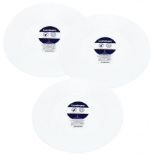 Bộ 3 đĩa thủy tinh Luminarc Harena 25cm