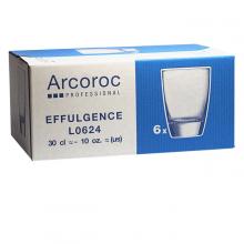Bộ 6 ly thủy tinh thấp Luminarc Effulgence 320ml - L0623