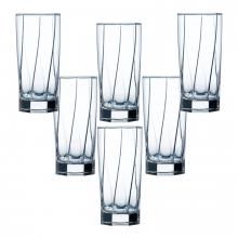 Bộ 6 ly cao thủy tinh Aeternam 320 ml - L6535