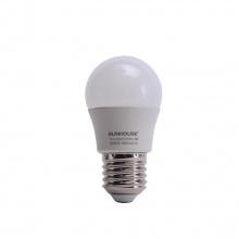 Bộ đèn led thân nhôm Sunhouse SHE-LEDA45AL-A3W đui xoáy, trắng
