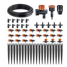 Bộ tưới nhỏ giọt Claber 90764-Itlaly. Bao gồm 20 đầu tưới nhỏ giọt điều chỉnh được,20m dây dẫn nước và phụ kiện