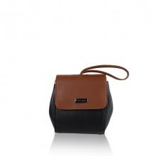 Túi thời trang verchini màu đen + nâu 13000388