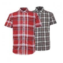 Bộ 2 áo sơ mi ngắn tay sọc caro thời trang SMC278