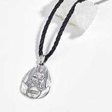 Mặt dây chuyền phong thủy bạc bất động minh vương tuổi dậu Ngọc Quý Gemstones