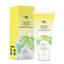 Sữa rửa mặt kiềm dầu, mờ thâm mụn & dưỡng trắng da Snail Calendula Prestige Bubble & Whitening All In One Foaming Cleanser