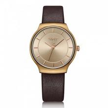 Đồng hồ nữ JA-1156LD Julius Hàn Quốc dây da (nâu)