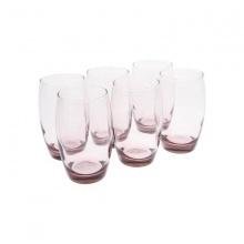 Bộ 6 ly thủy tinh cao 350ml Luminarc Salto Pink-J5385
