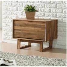 Tủ ngăn kéo Begonia 1 hộc gỗ cao su  - Cozino