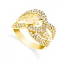 Nhẫn nữ đính đá sang trọng uha nn85