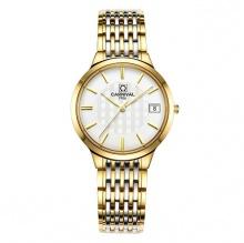 Đồng hồ nữ dây thép Carnival L57601.201.616