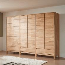Tủ quần áo Poppy gỗ cao su - Cozino