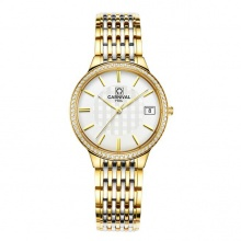 Đồng hồ nữ dây thép Carnival L57602.201.616