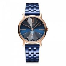 Đồng hồ nữ JA-1144D Julius Hàn Quốc dâ thép (xanh)