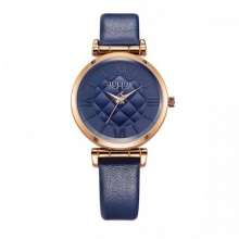Đồng hồ nữ Julius JA-956D JU1177 Hàn Quốc dây da  (xanh)