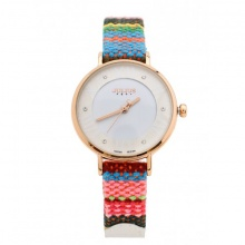 Đồng hồ nữ Julius JA-924D JU1182 Hàn Quốc dây da (trắng)