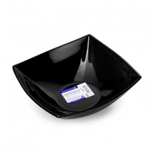 Tô thủy tinh Luminarc Quadrato Noir 16cm-H5036
