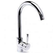 Vòi rửa chén nóng lạnh Eurolife EL-T006 (Trắng bạc)