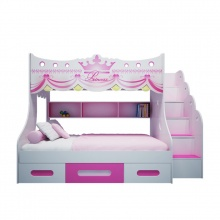 Giường tầng cao hình Công chúa 1m4