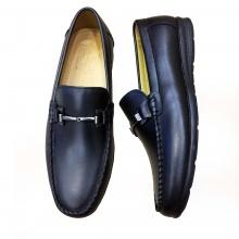 Giày lười nam da bò thật GM7 Geleli