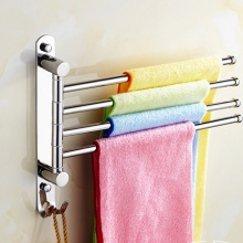 Giá treo khăn 4 thanh Rotating towel bar HA030-4