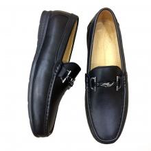 Giày lười nam da bò thật GM10 Geleli