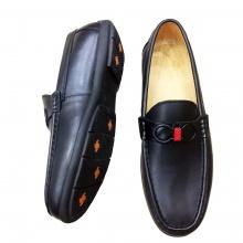 Giày lười nam da bò thật GM12 Geleli