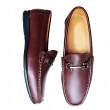 Giày lười nam da bò thật GM15 Geleli