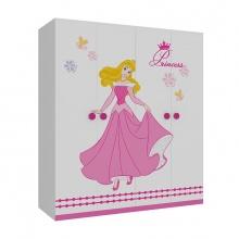 Tủ quần áo trẻ em hình công chúa 1m6 - Ibie