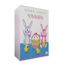 Tủ quần áo 3 cánh hình Bunny - IBIE