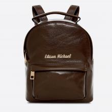 Balo da dê cao cấp hiệu Edison Michael 4001 brown