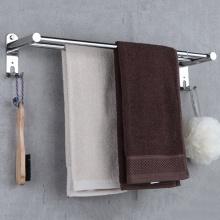 Giá vắt, treo khăn kép inox Towel Bar HA4618-2