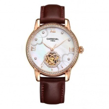 Đồng hồ nữ dây da Carnival L80601.101.433