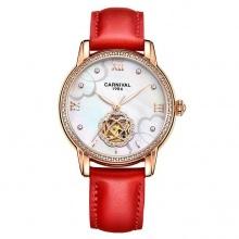 Đồng hồ nữ dây da Carnival L80601.101.435