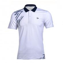 Áo cầu lông nam Dunlop - DABAS9037-1C-WT (trắng)