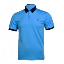 Áo tennis nam Dunlop - DATES9091-1C-CL (xanh da trời)