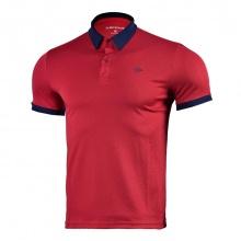 Áo tennis nam Dunlop - DATES9091-1C-DRD (đỏ đậm)
