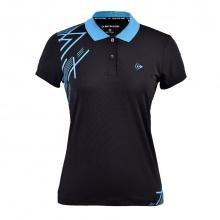 Áo cầu lông nữ Dunlop - dabas9038-2c-bk (Đen)