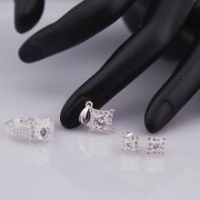 Opal_ Set trang sức bạc đính đá Ross trắng_T05