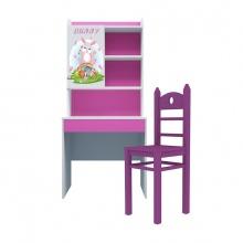 Bộ bàn học có giá sách hình Bunny chúa 80cm