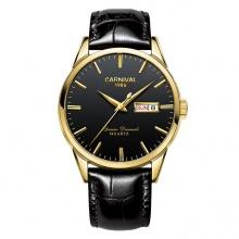 Đồng hồ nam dây da Carnival G64601.202.332